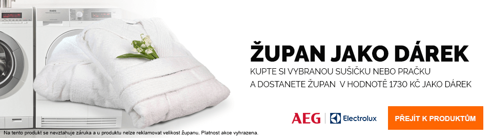 AEG, Electrolux - Župan jako dárek