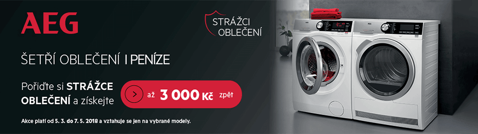 AEG Laundry Cashback