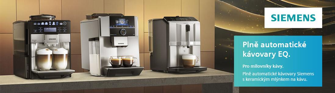 Siemens - Plně automatické kávovary EQ