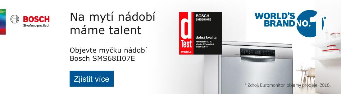 Bosch - Objevte myčku nádobí Bosch SMS68II07E