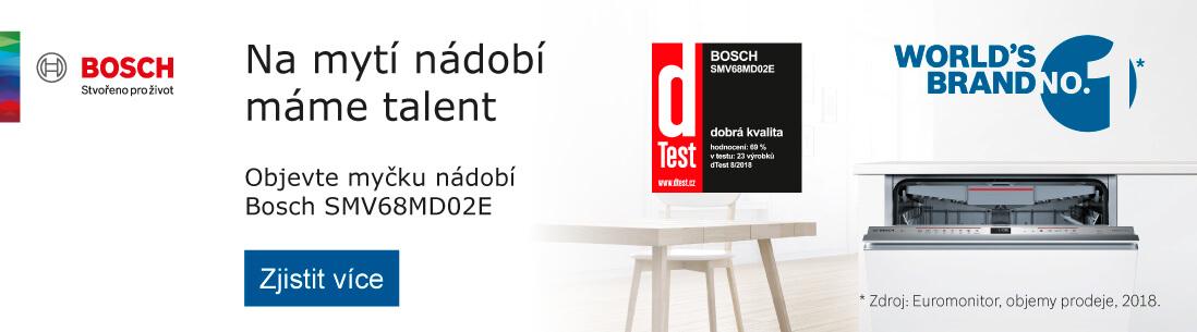 Bosch - Objevte myčku nádobí Bosch SMV68MD02E