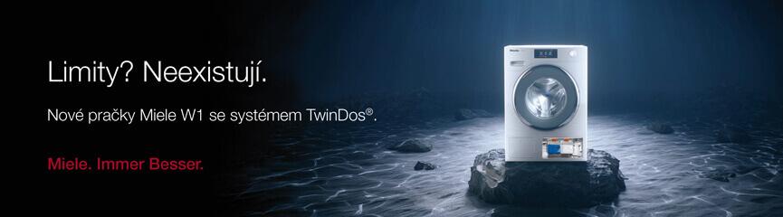 Nové pračky Miele W1 se systémem TwinDos