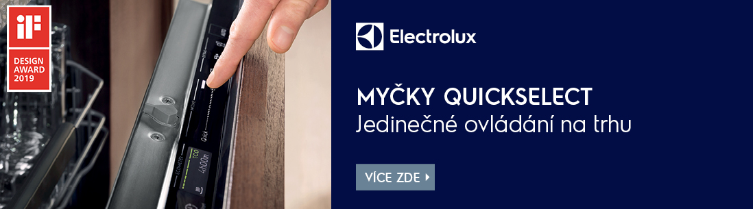 Electrolux myčky QuickSelect
