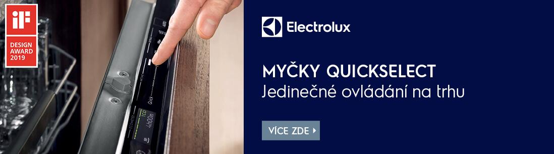 Electrolux myčky QuickSelect