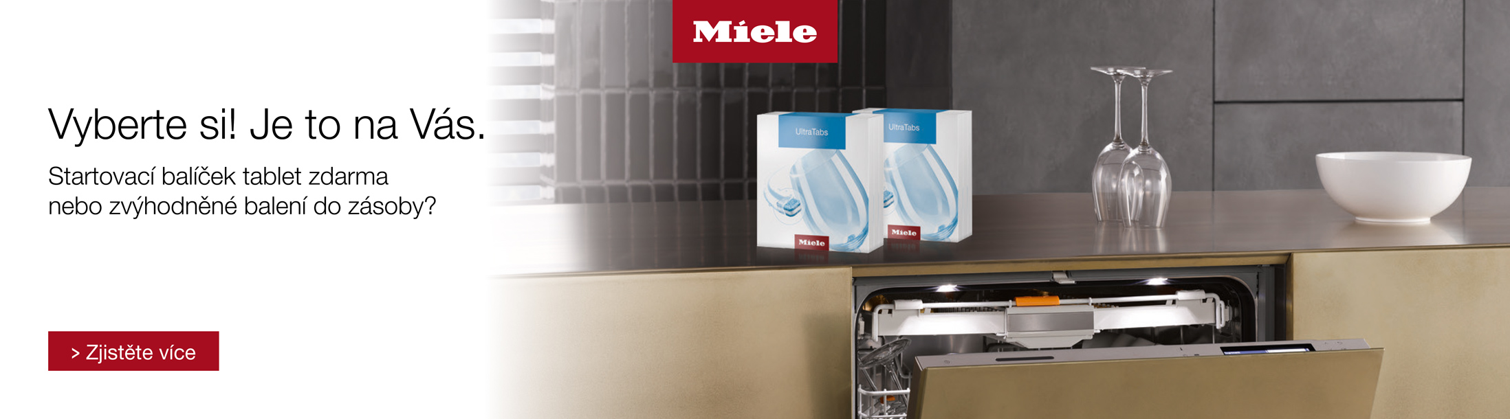 Miele - myčky nádobí řady EcoFlex