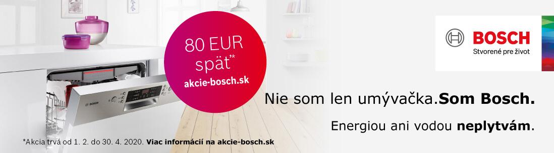 Nie som len umývačka. Som Bosch.