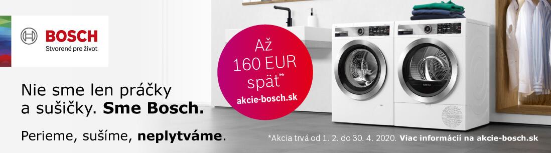 Nie sme len práčky a sušičky. Sme Bosch.