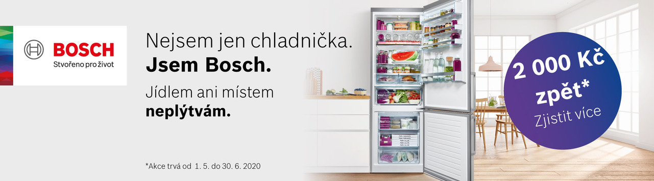 Nejsem jen chladnička. Jsem Bosch