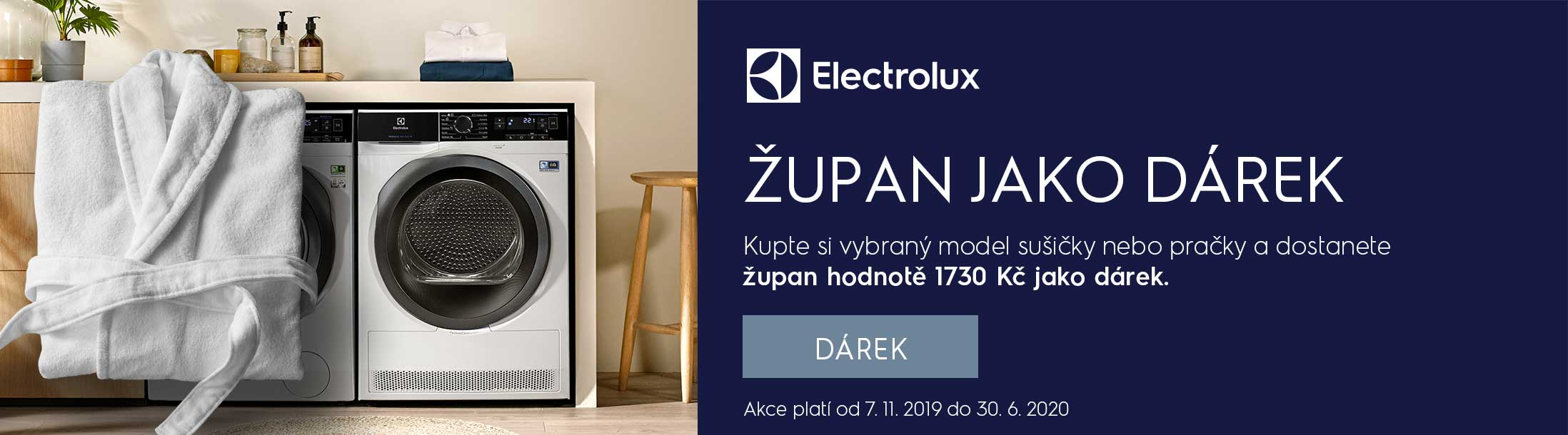 Electrolux - Župan jako dárek