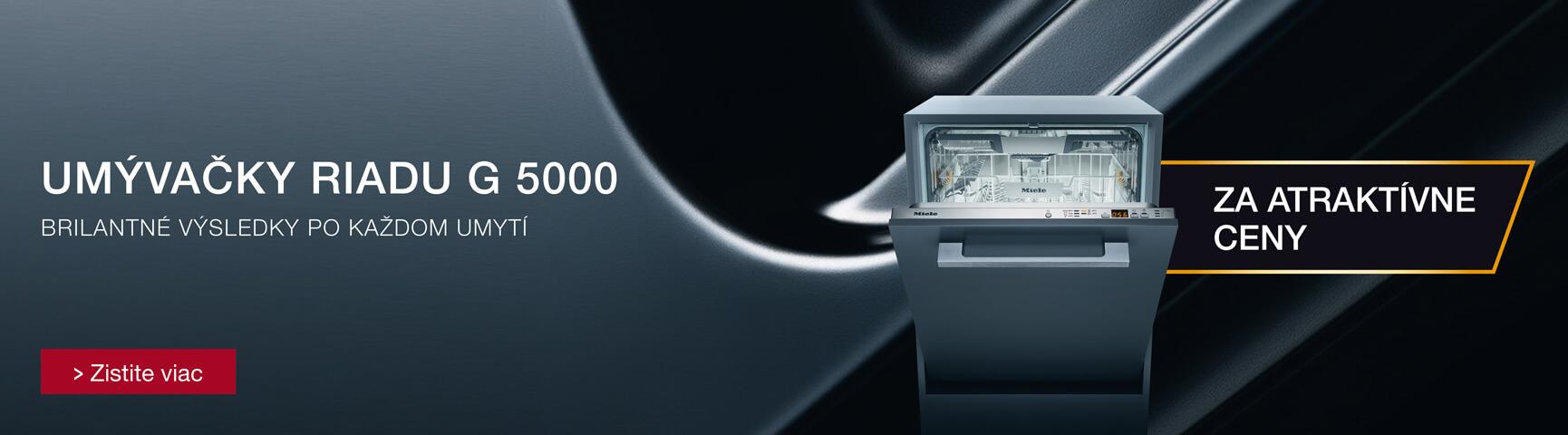 Umývačky riadu Miele G 5000