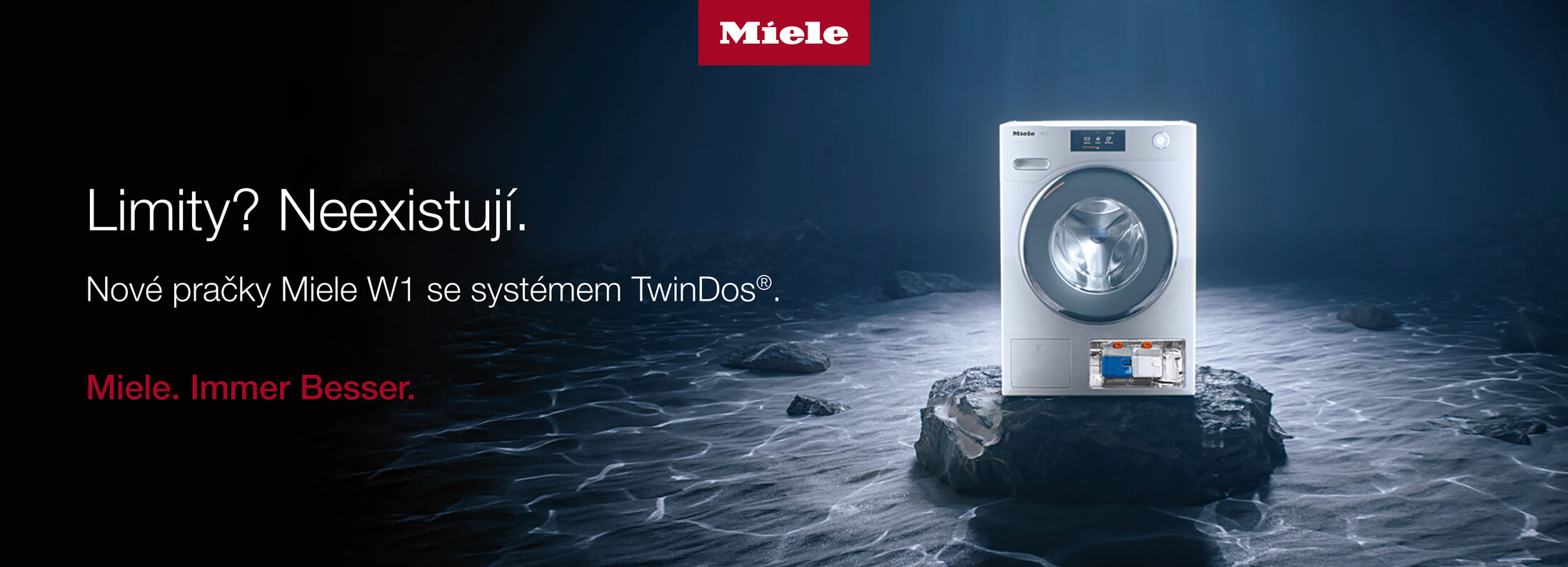 Miele - Nové pračky W1 se systémem TwinDos