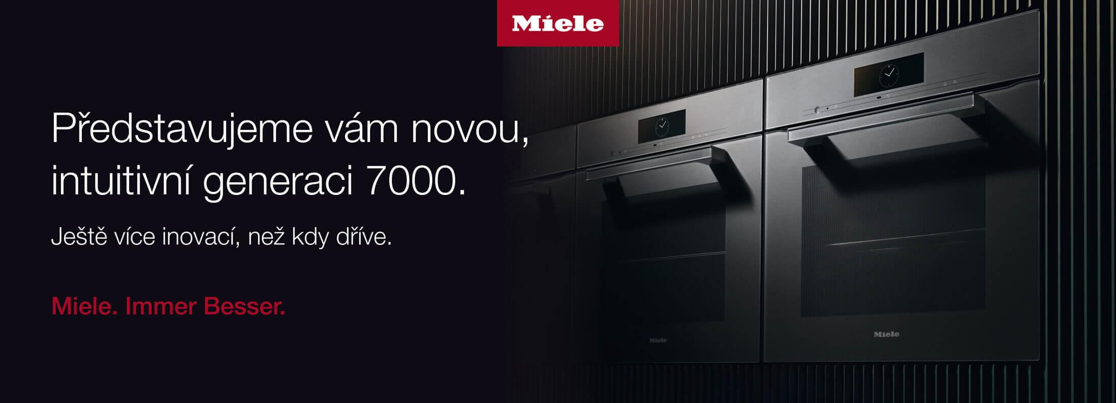 Miele - Nová intuitivní generace 7000