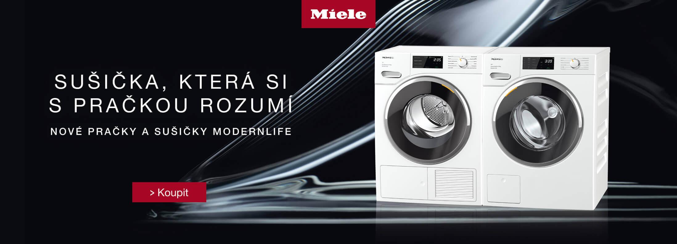 Miele - Nové pračky a sušičky Miele ModernLife