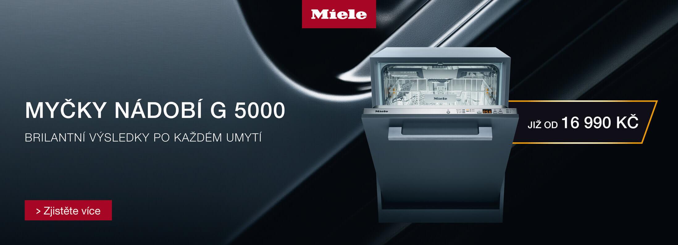 Myčky nádobí Miele G 5000