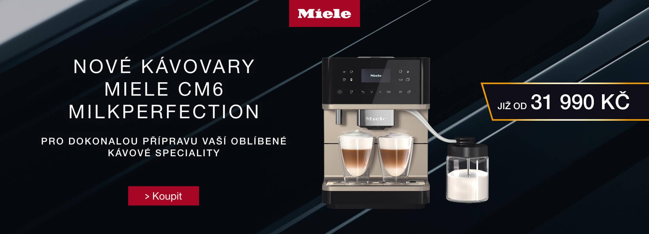 Volně stojící kávovary Miele CM6 MilkPerfection
