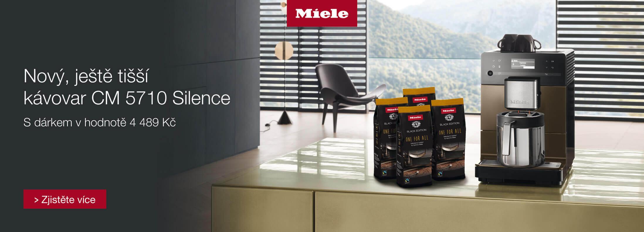 Dárek ke kávovaru Miele CM 5710 Silence