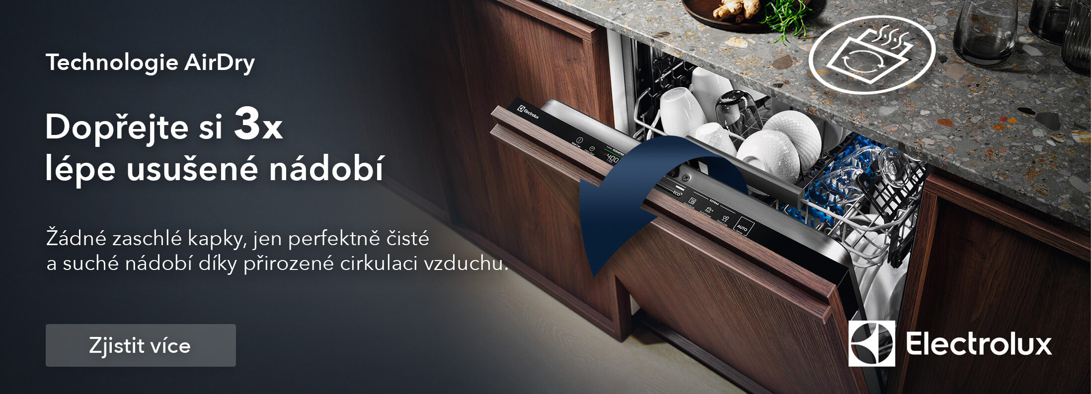 Electrolux - Technologie AirDry