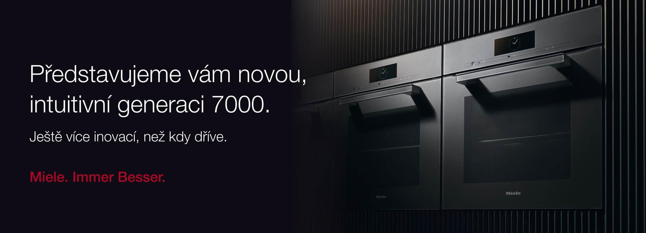 Miele nová intuitivní generace 7000