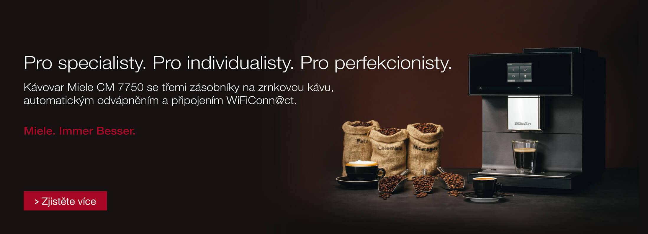 Miele - Kávovary CM7