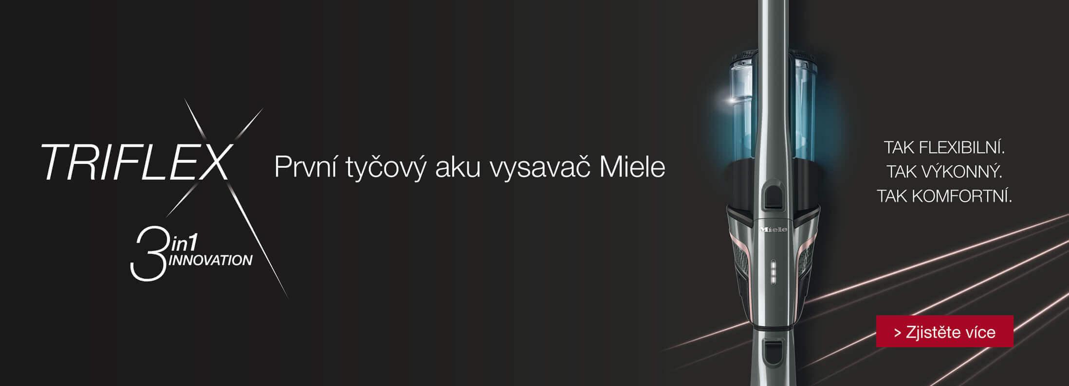 Miele - Nová řada vysavačů Triflex