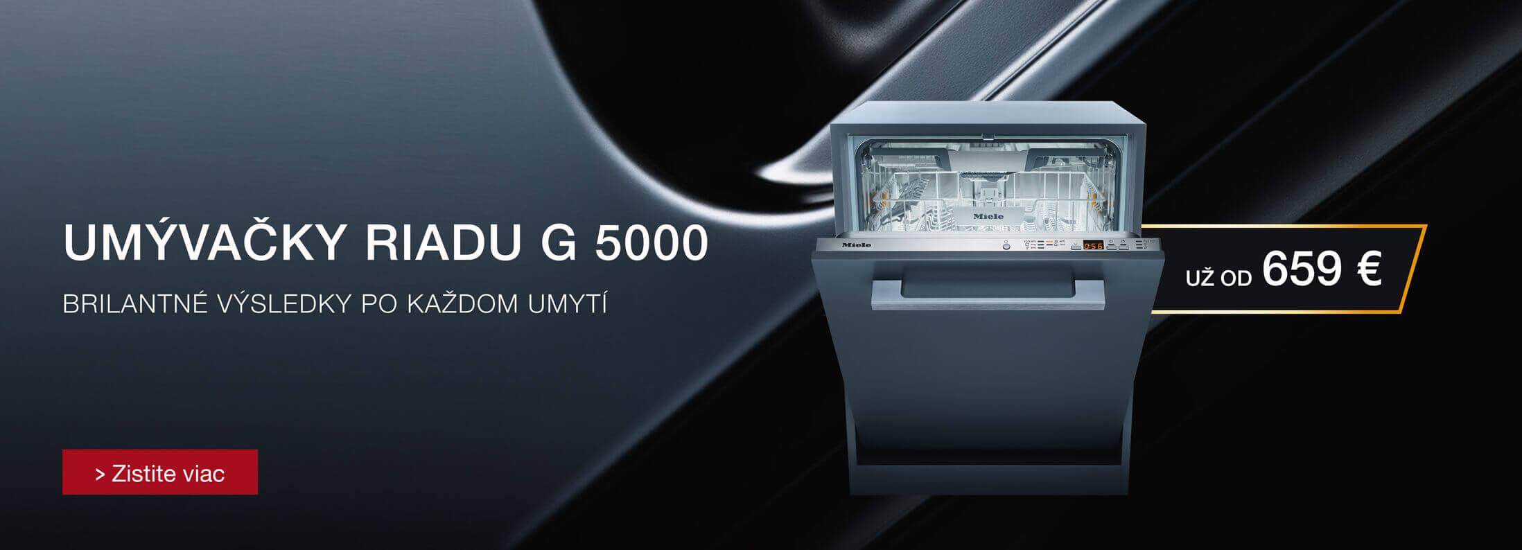 Miele - Umývačky riadu Miele G 5000