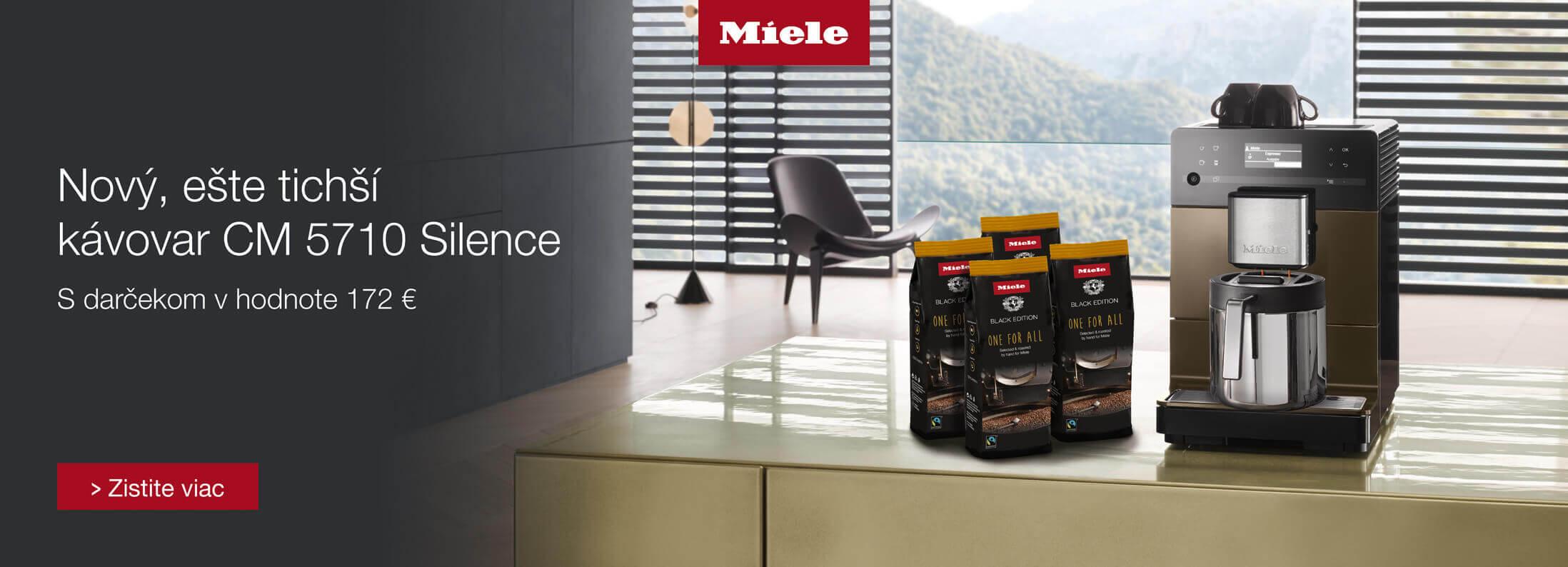 Miele - Darček ku kávovaru Miele CM 5710 Silence