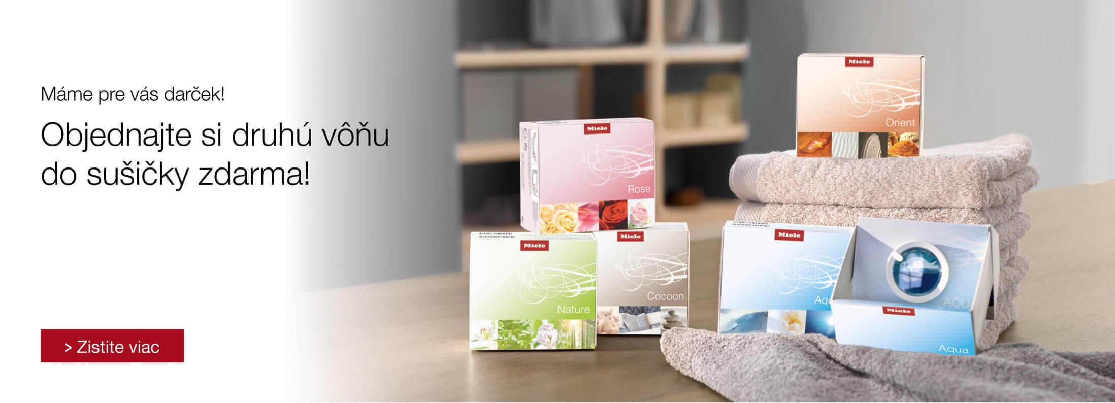 Miele - FragranceDos2 - Dokonalá sviežosť z Vašej sušičky
