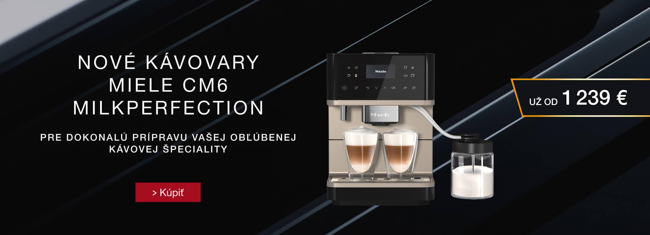 Miele - Voľne stojace kávovary Miele CM6 MilkPerfection
