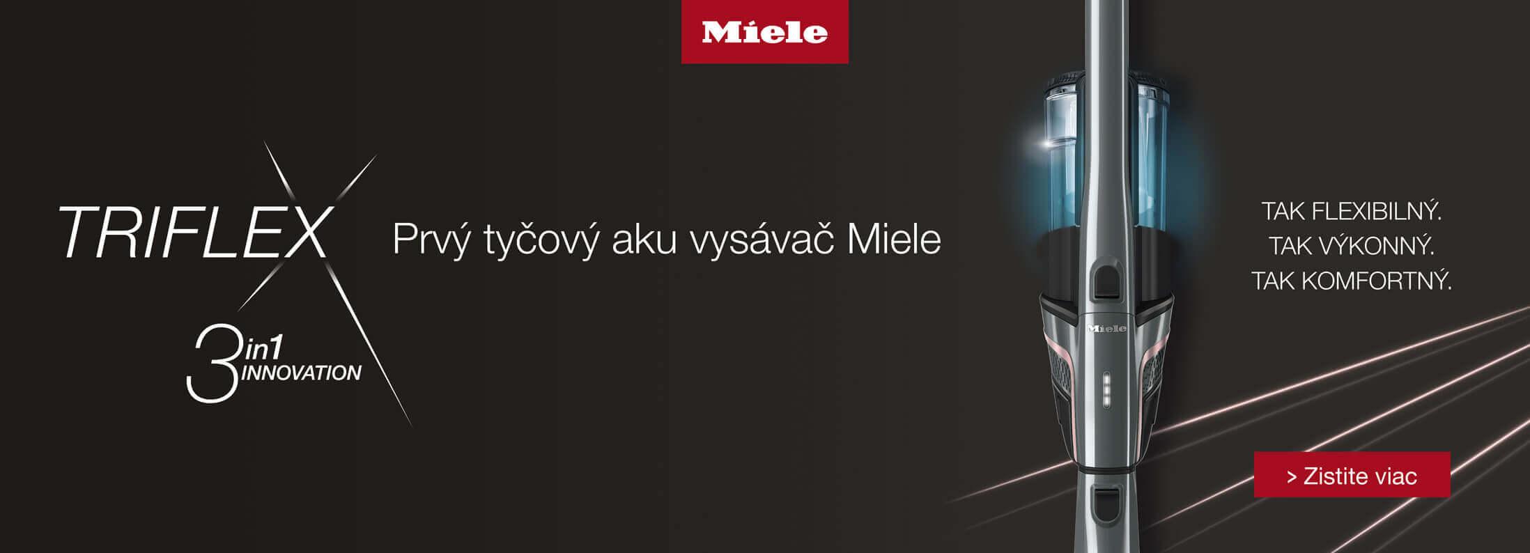 Miele - Nová rada vysaváčov Triflex