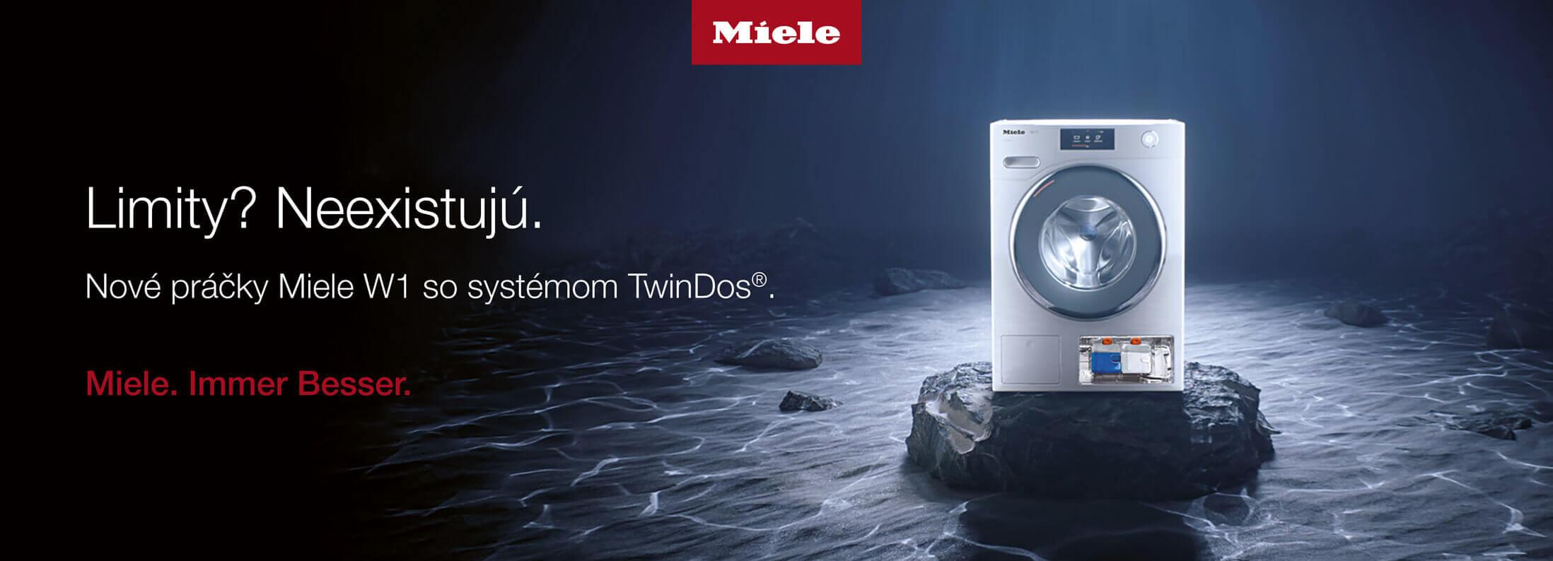 Miele - Nové práčky W1 so systémom TwinDos