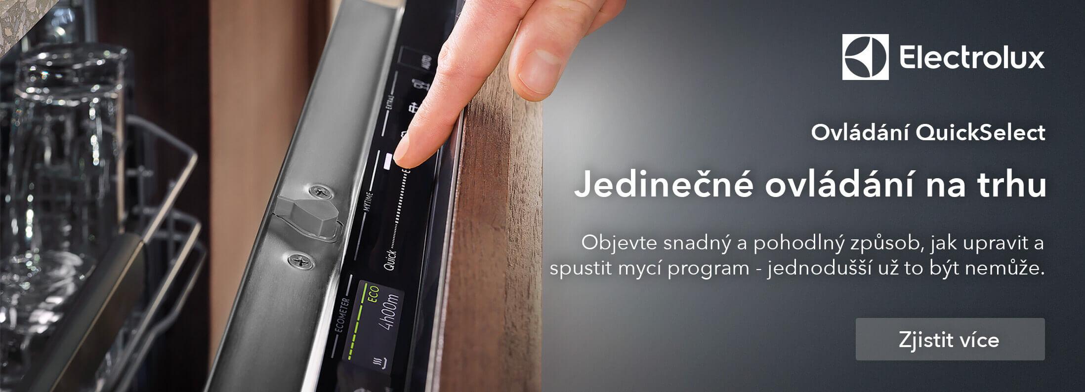 Electrolux - Myčky nádobí QuickSelect