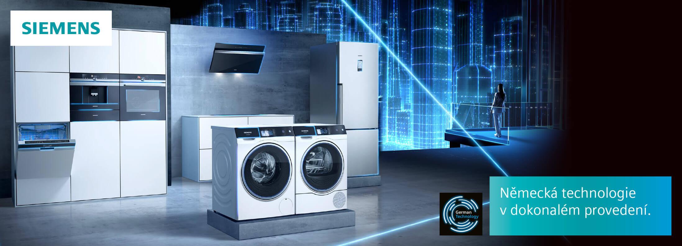 Siemens - Německá technologie v dokonalém provedení