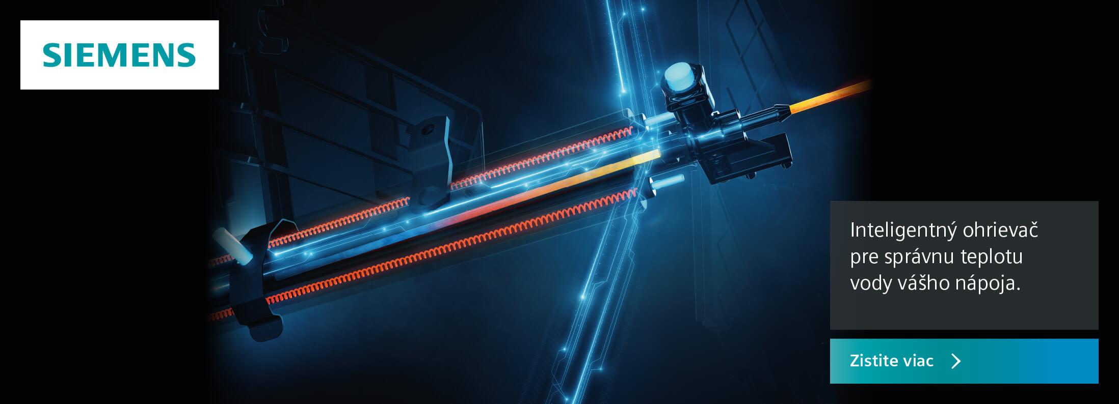 Siemens - Inteligentný ohrievač