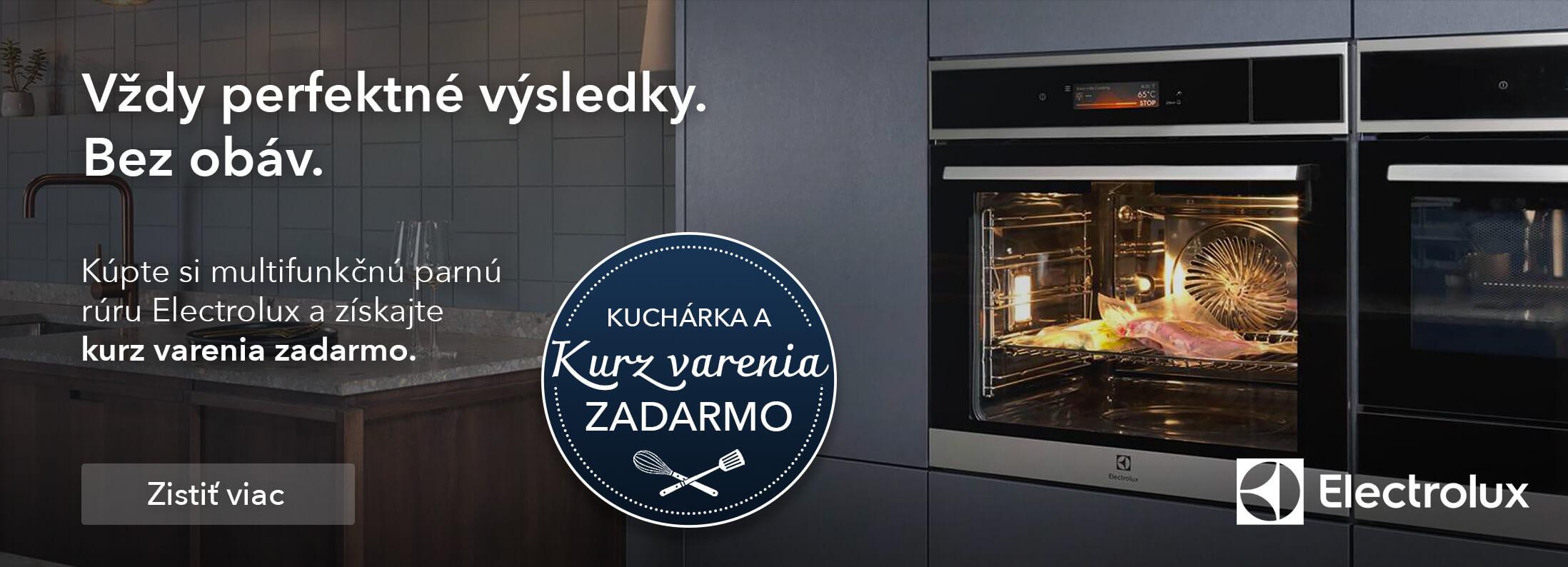 Electrolux - Kurzy varenia