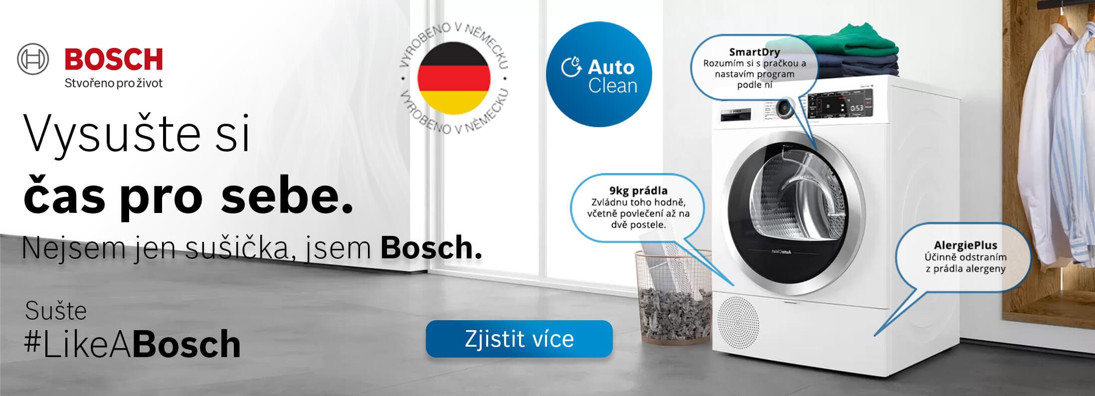 Bosch - Vysušte si čas pro sebe