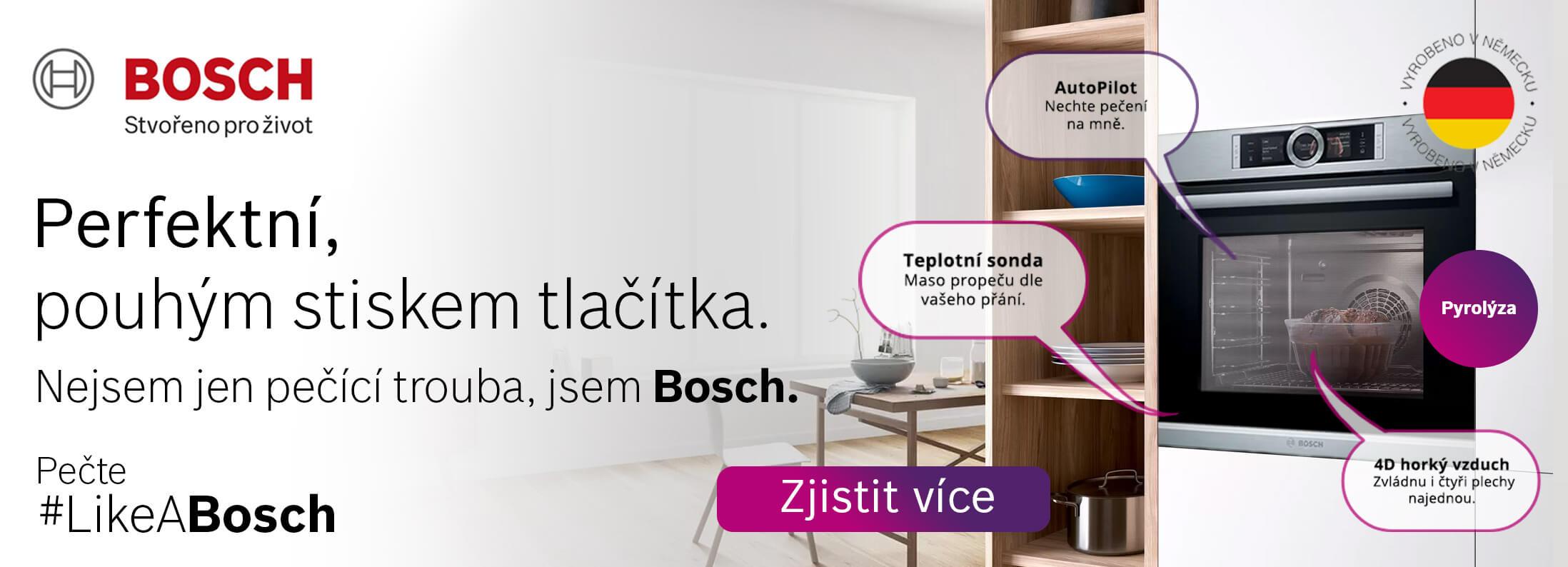 Bosch - Pyrolytické trouby