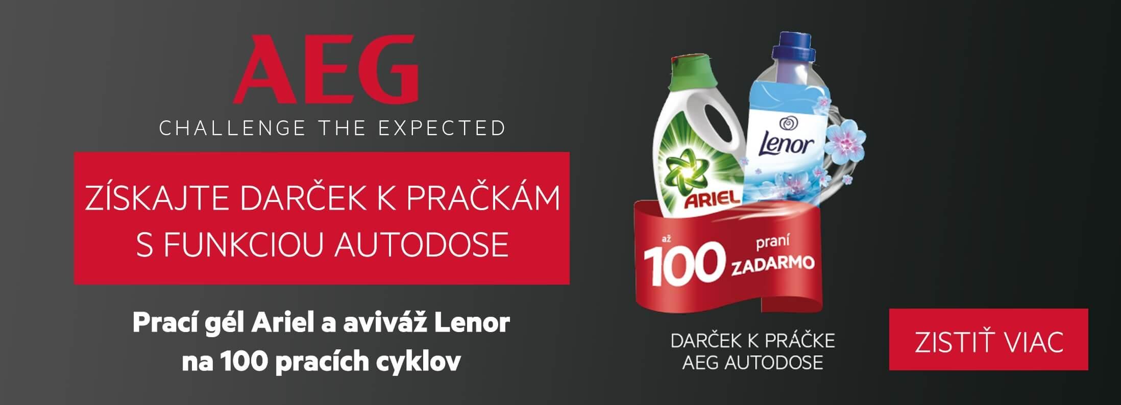AEG - Darček k práčkám AEG s funkciou AutoDose