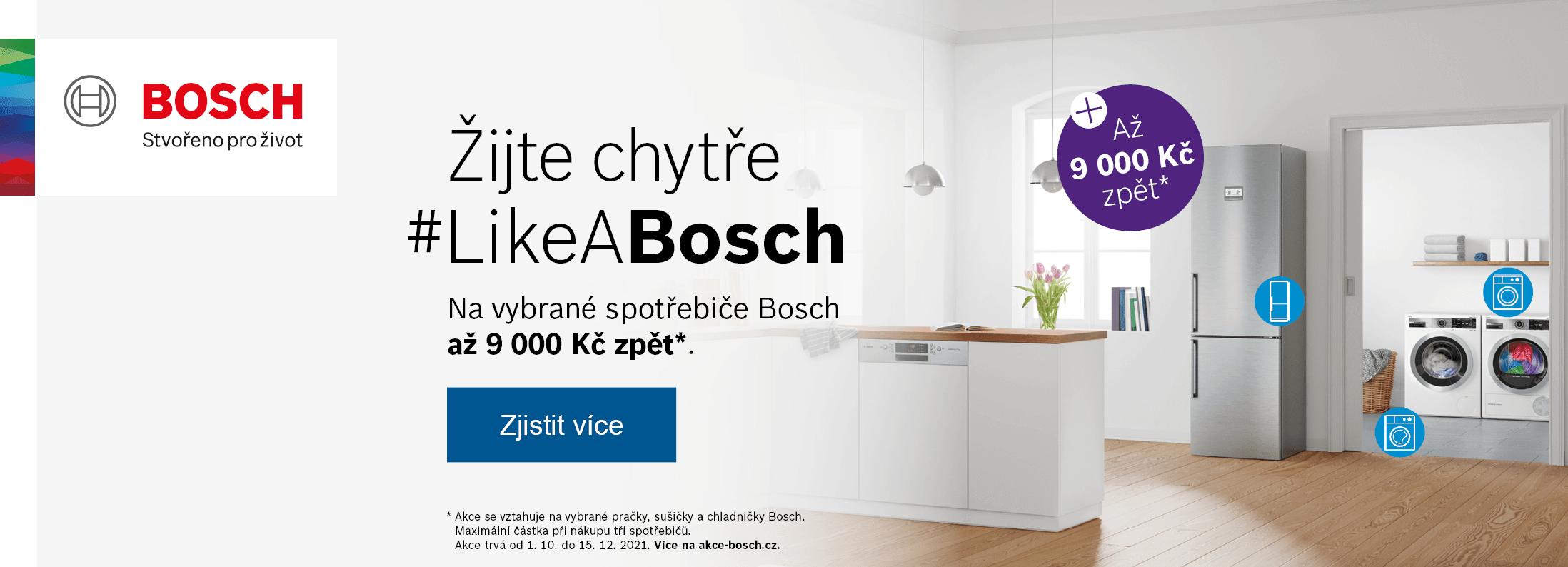 Bosch - Žijte chytře #LikeABosch