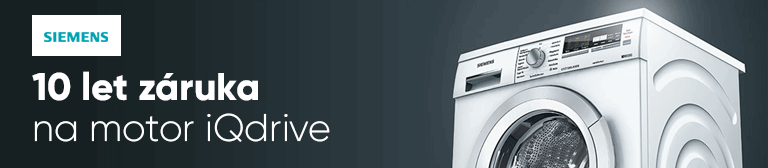 Siemens 10 let záruka na motor iQdrive