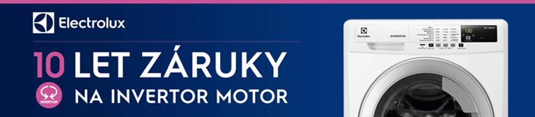 Electrolux 10 let záruka na invertor motor