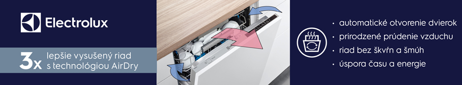 Electrolux technológie airdry