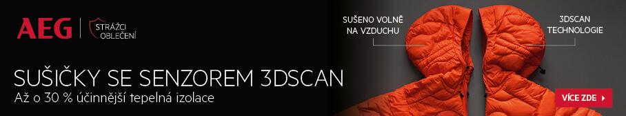 AEG - Sušičky se senzorem 3DScan