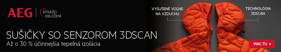 AEG - Sušičky so senzorom 3DScan