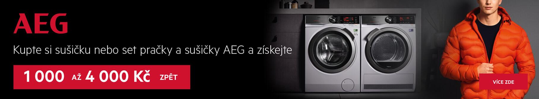 AEG - Dokonale ochrání každý kousek vašeho oblečení. BEZ OBAV.