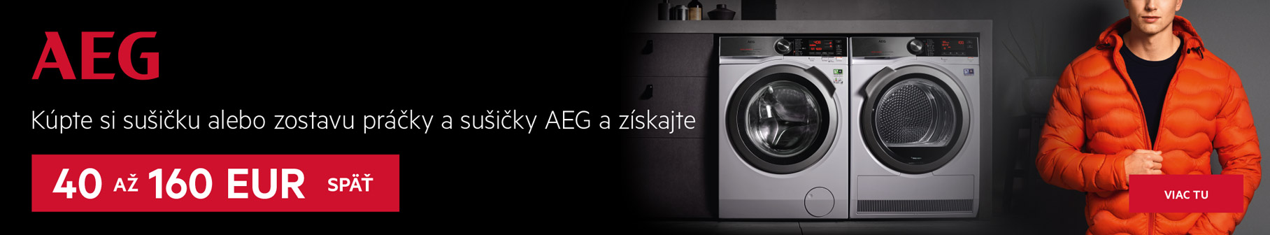 AEG - Dokonale ochráni každý kúsok vášho oblečenia. BEZ OBÁV.