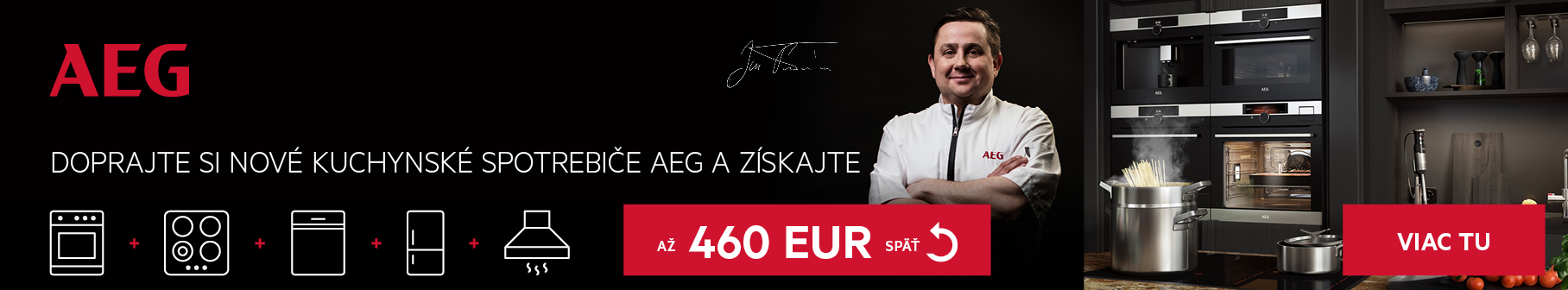 Doprajte si nové kuchynské spotrebiče AEG