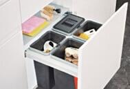 Sortery Franke - moderní kuchyňský odpadkový koš