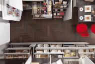 Více úložného prostoru v kuchyni