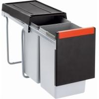 Franke Sorter Cube 30 2x15L, ruční výsuv