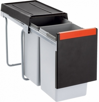Sorter Cube 30 2x15L, ruční výsuv